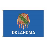 Nylon Oklahoma State Flags