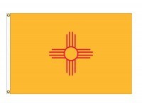 Nylon New Mexico State Flags