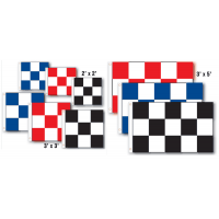 Checkered Nylon Flags