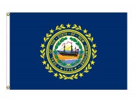 Nylon New Hampshire State Flags