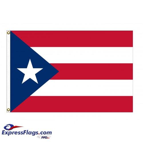 Nylon Puerto Rico FlagsPR-NYL