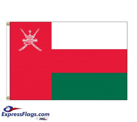 Oman Nylon Flags (UN Member)OMN-NYL