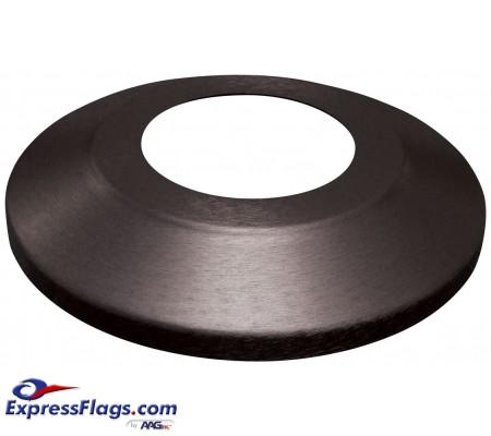 Standard Profile Aluminum Flagpole Flash Collars - Black FinishSPAC-BK