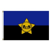 Police Remembrance Flag - 3' x 5' Endura-Nylon