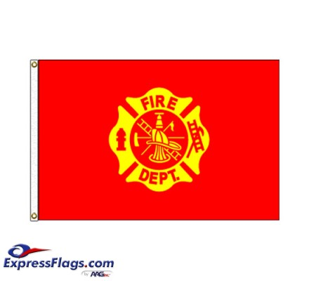 Fire Department Flag - 3  x 5  Endura-Nylon070283