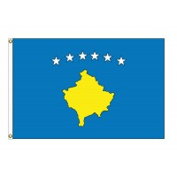 Kosovo Nylon Flags