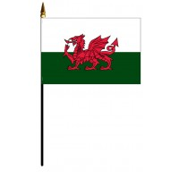 Wales Mounted Flags