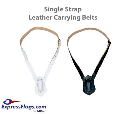 Single Strap Leather Carrying BeltsB-10-11