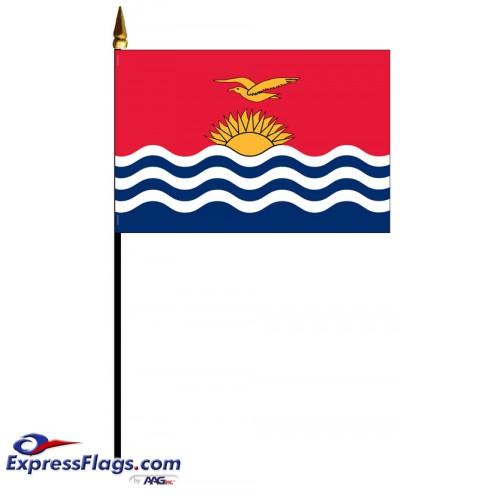 Kiribati Mounted Flags - 4in x 6in032268