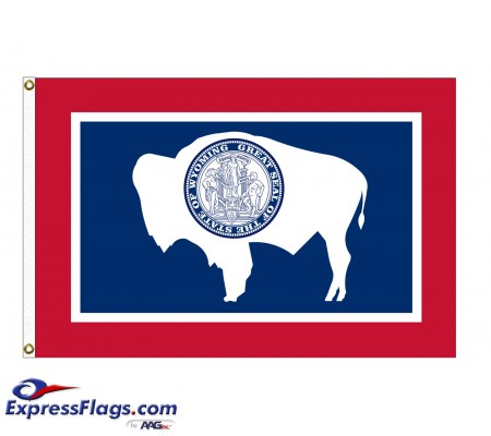 Nylon Wyoming State FlagsWY-NYL