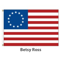 Sewn Nylon - Betsy Ross American Historical Flags