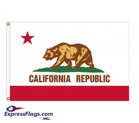 Nylon California State FlagsCA-NYL