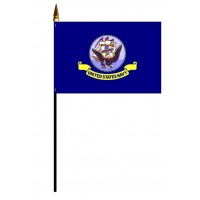 Navy Flags - Stick Mounted
