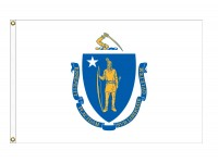 Nylon Massachusetts State Flags