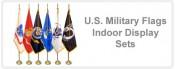 U.S. Military Flag Indoor Display Sets