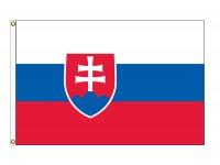 Slovakia Nylon Flags (UN Member)