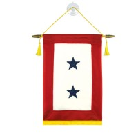 Blue Star Service Banners - 2 Stars