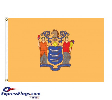 Poly-Max New Jersey State FlagsNJ-PM
