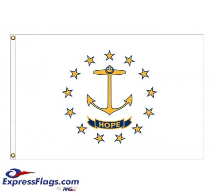 Poly-Max Rhode Island State FlagsRI-PM