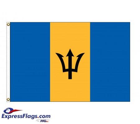Barbados Nylon Flags - (UN, OAS Member)BRB-NYL