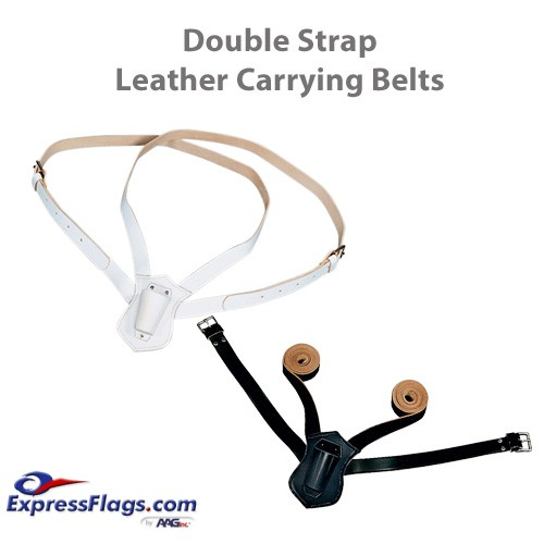 Double Strap Leather Carrying BeltsB-12