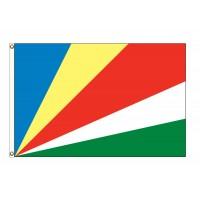 Seychelles Nylon Flags (UN Member)