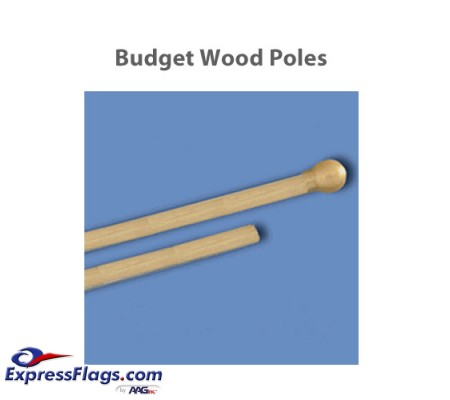 Budget Wood Indoor PolesBP