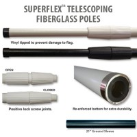Superflex Telescoping Fiberglass Poles