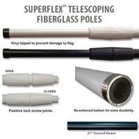Superflex Telescoping Fiberglass Poles