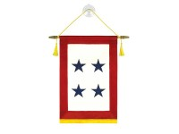 Blue Star Service Banners - 4 Stars