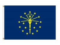 Nylon Indiana State Flags