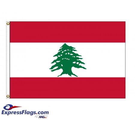 Lebanon Nylon Flags (UN Member)LBN-NYL