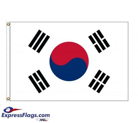Korea, South Nylon Flags (UN Member)KOR-NYL
