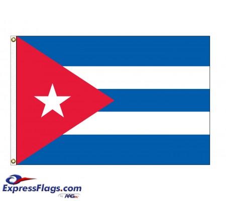 Cuba Nylon Flags  (UN, OAS Member)CUB-NYL