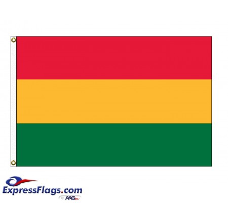 Bolivia (No Seal) Nylon FlagsBOL-NYL-2