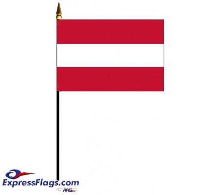 Austria Mounted Flags