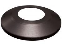 Standard Profile Aluminum Flagpole Flash Collars - Black Finish