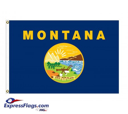 Poly-Max Montana State FlagsMT-PM