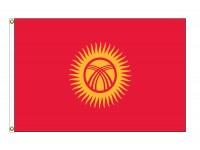 Kyrgyzstan Nylon Flags (UN Member)