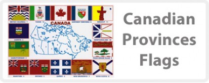 Canadian Provinces Flags