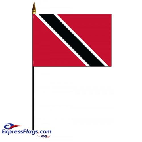 Trinidad & Tobago Mounted Flags