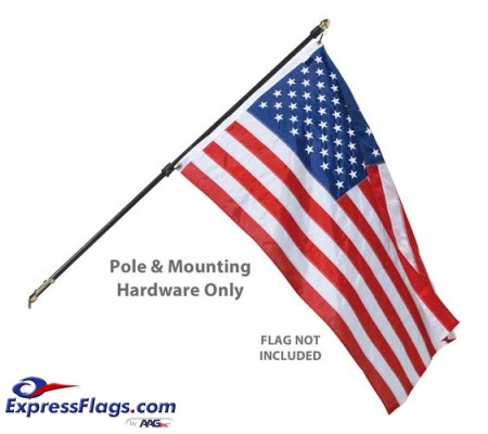 Regal Wall Mount Residential Flagpole Sets - No FlagRFS-NF