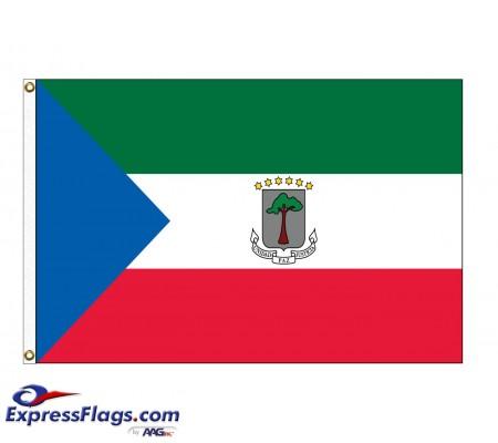 Equatorial Guinea Nylon Flags (UN Member)GNQ-NYL