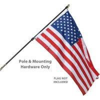 Regal Wall Mount Residential Flagpole Sets - No Flag