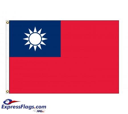 Taiwan Nylon FlagsTWN-NYL