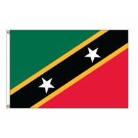 Saint Chris-Nevis Nylon Flags (UN, OAS Member)