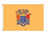 Nylon New Jersey State Flags
