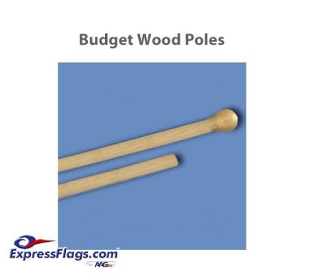 Budget Wood Indoor PolesBP