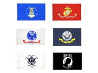 U.S. Military Flags 3' x 5' Poly-Max