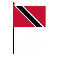 Trinidad & Tobago Mounted Flags
